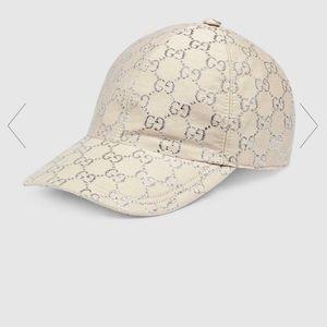GG lamé baseball hat